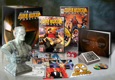 Коллекционное издание Duke Nukem Forever Balls of Steel Edition