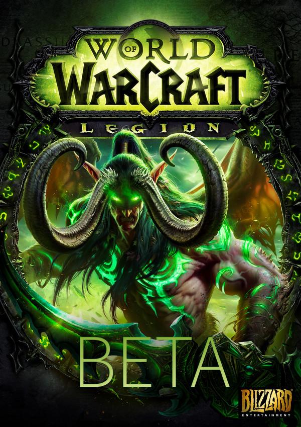 Купить World of Warcraft Legion Beta Key (Region Free) - лицензионный ключ
